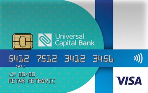 VISA Gift Card – Universal Capital Bank